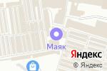 Схема проезда до компании Техносток в Донецке