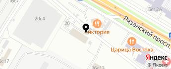 CAR RADAR на карте Москвы
