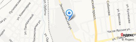 Донгорклимат на карте Донецка