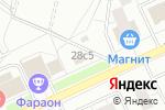 Схема проезда до компании Атаман в Москве