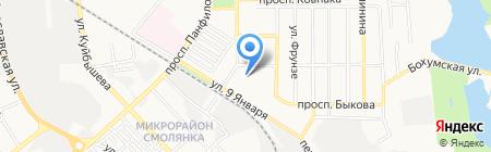 Детский сад №288 на карте Донецка