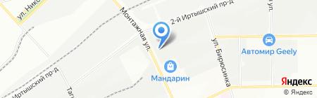 Стекольная мастерская на карте Москвы