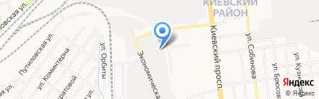 Укрдизайн на карте Донецка