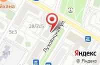 Схема проезда до компании Квант-11 в Москве