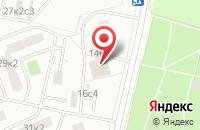 Схема проезда до компании Бансай-Св в Москве