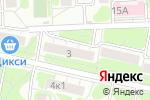 Схема проезда до компании О`К в Москве