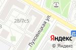 Схема проезда до компании Ремонтная мастерская на Луховицкой в Москве