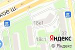 Схема проезда до компании Белый кролик в Москве