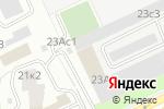 Схема проезда до компании Турист в Москве