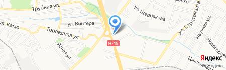 Энергия на карте Донецка