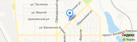 Fresh City на карте Донецка