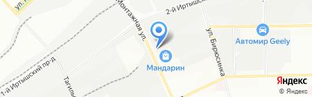 Bobсat на карте Москвы