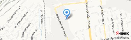 Грост на карте Донецка