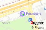 Схема проезда до компании Мегабетон в Москве