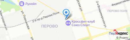 Максик на карте Москвы