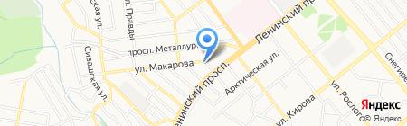 НИЛ на карте Донецка