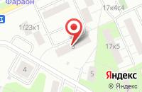 Схема проезда до компании Вай Нот Продакшн в Москве