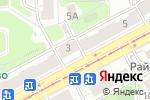 Схема проезда до компании Сундук в Москве