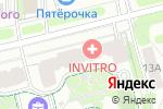 Схема проезда до компании Виноградный в Москве