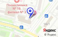 Схема проезда до компании МЕБЕЛЬНЫЙ МАГАЗИН ТОРИ-М в Москве