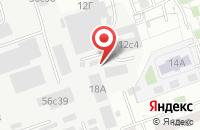 Схема проезда до компании Юникомп в Москве
