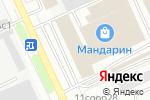 Схема проезда до компании Центр Дверь в Москве