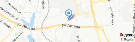 Магнум-Донецк-Украина ЧП на карте Донецка