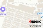 Схема проезда до компании 1000 мелочей в Донецке