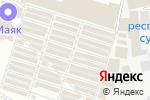 Схема проезда до компании Маячок в Донецке