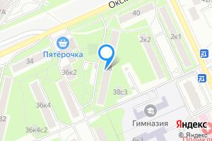 Снять однокомнатную квартиру в Москве м. Кузьминки, Окская улица, 38