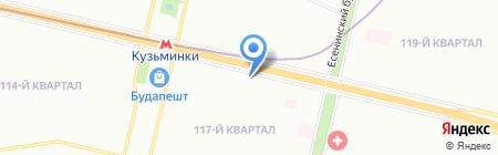 Банкомат ОТП Банк АО на карте Москвы