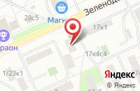 Схема проезда до компании Транспозиция в Москве