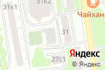 Схема проезда до компании МосПаркинг в Москве