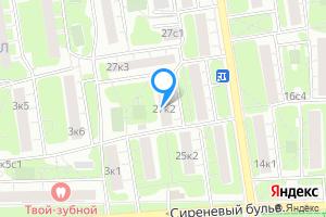 Однокомнатная квартира в Москве Никитинская ул., 27к2