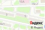 Схема проезда до компании Московское Оконное Партнерство в Москве