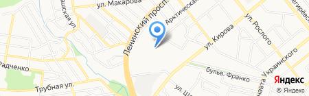 Марина на карте Донецка