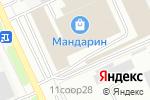 Схема проезда до компании Баракат в Москве