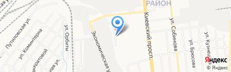 Сервисная компания на карте Донецка