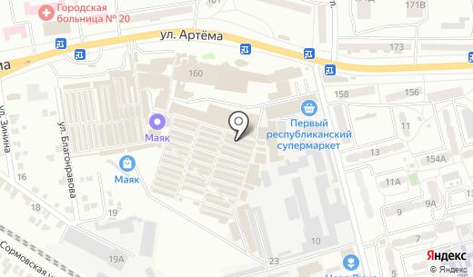 Книги 1886. Схема проезда в Донецке