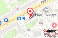 Схема проезда до компании Средняя основная школа в Денисово