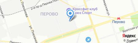 Saros Design на карте Москвы
