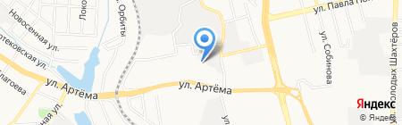 Детский сад №250 на карте Донецка