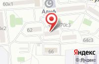 Схема проезда до компании Деловой Ритм в Москве