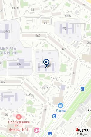 ЛОГОПЕДИЧЕСКИЙ КОМПЕНСИРУЮЩЕГО ВИДА ДЕТСКИЙ САД № 1029 на карте Москвы