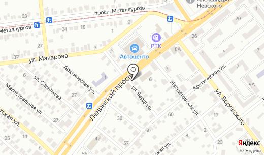 Кварцит. Схема проезда в Донецке