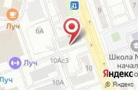 Схема проезда до компании Кристи Лтд в Москве