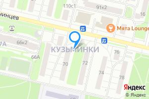 Снять комнату в двухкомнатной квартире в Москве м. Кузьминки, Кузьминки
