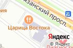 Схема проезда до компании Эффективные бизнес решения в Москве