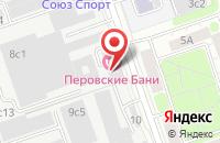 Схема проезда до компании Сервислюкс в Москве