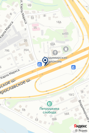 ТФ ТЕПЛОЛЮКС на карте Мытищ